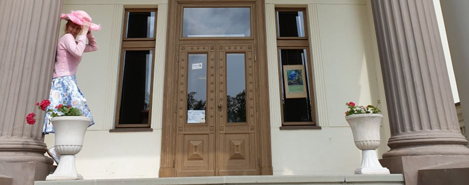 Virtuali kelionė į Gelgaudiškio dvarą